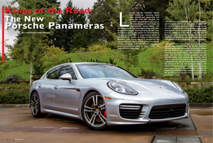 9 Magazine article on Panameras